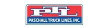 Paschall Truck Lines (PTL) logo