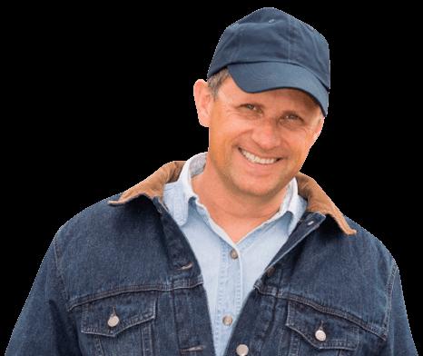 smiling trucker
