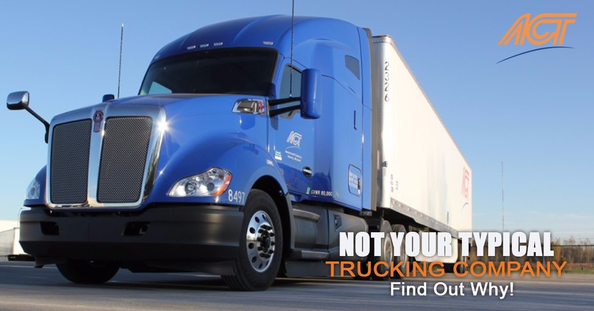 American Central Transport is looking for truck drivers.