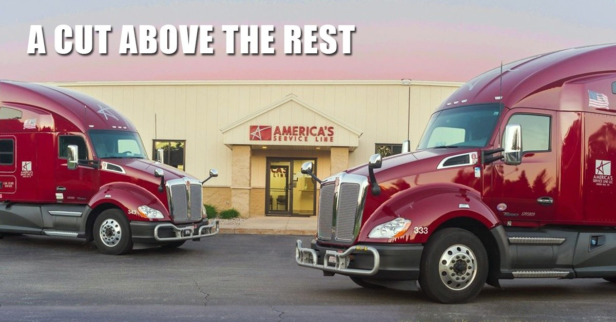 America's Service Line is looking for truck drivers.