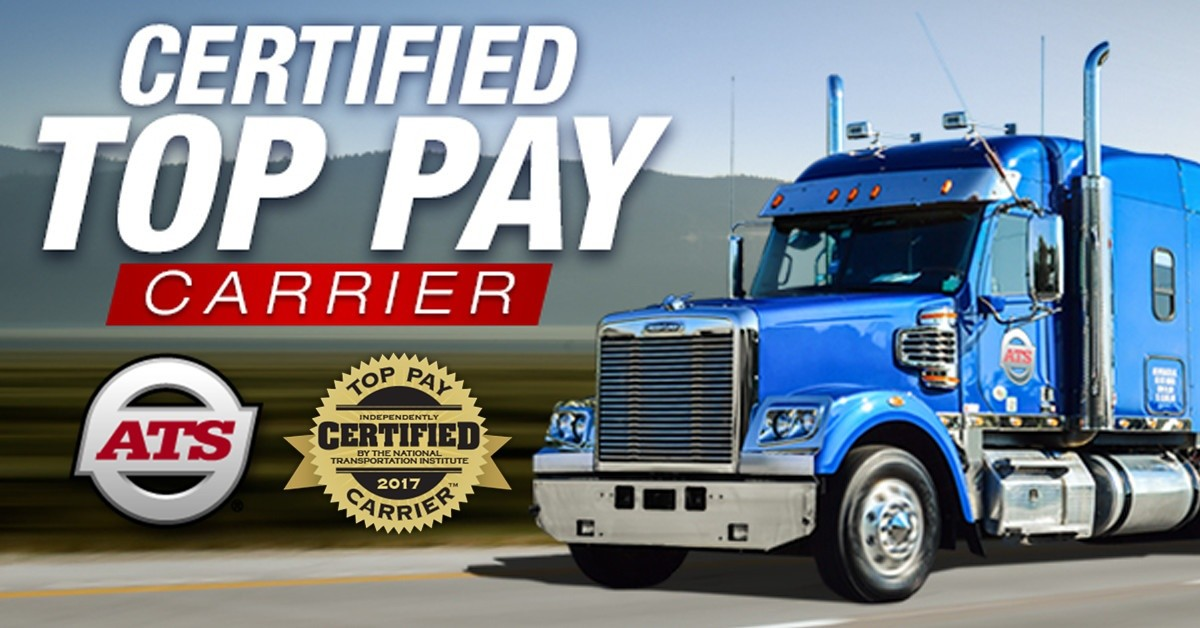 ATS is looking for truck drivers.