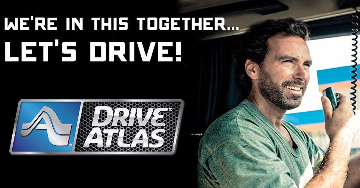 DriveAtlas is looking for truck drivers.
