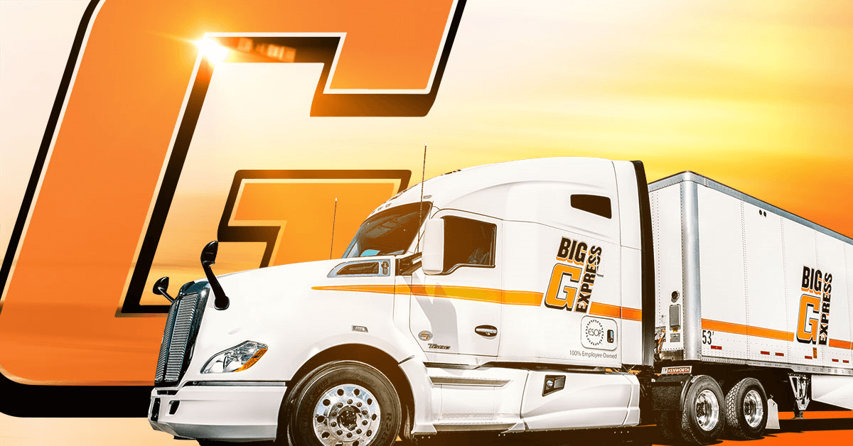 Big G Express is looking for truck drivers.