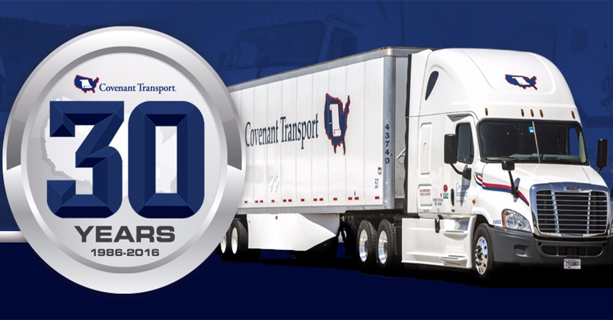 Covenant Transport is looking for truck drivers.