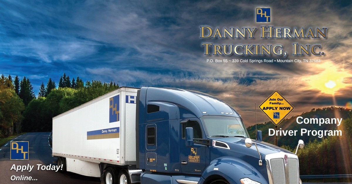 Danny Herman Inc. is looking for truck drivers.