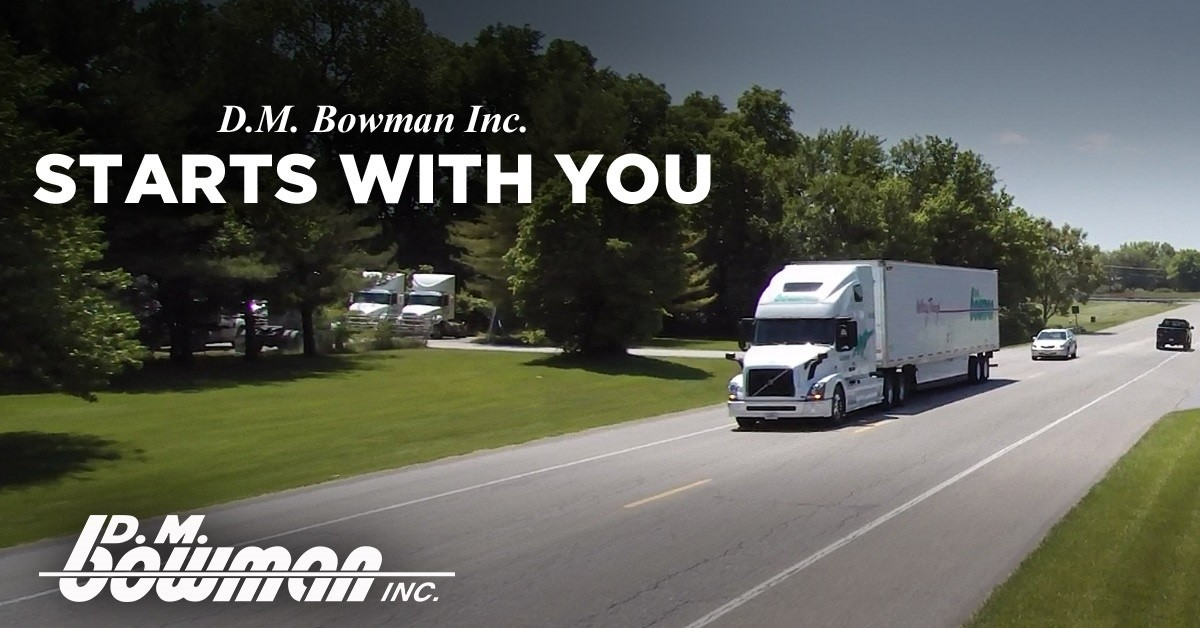D.M. Bowman is looking for truck drivers.