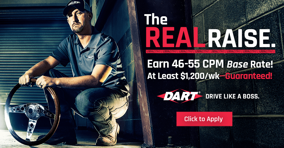 Dart Transit is looking for truck drivers.