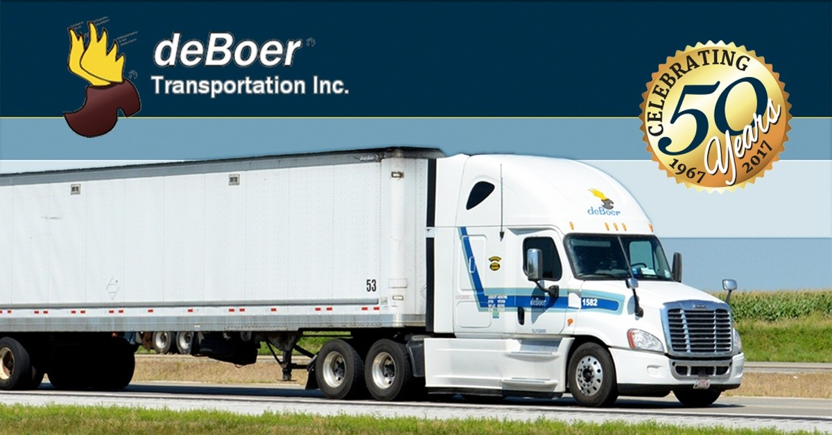 DeBoer Transportation is looking for truck drivers.