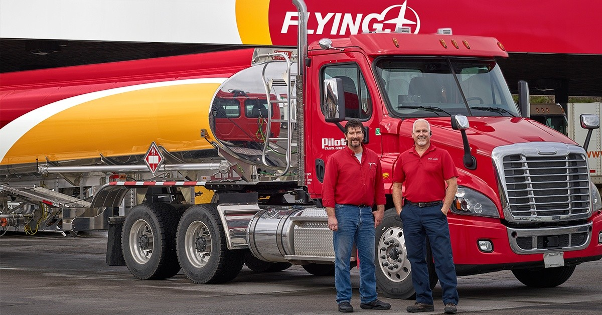 Pilot Flying J  is looking for truck drivers.