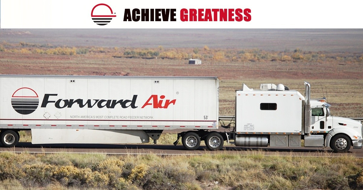 Forward Air Transportation Services is looking for truck drivers.