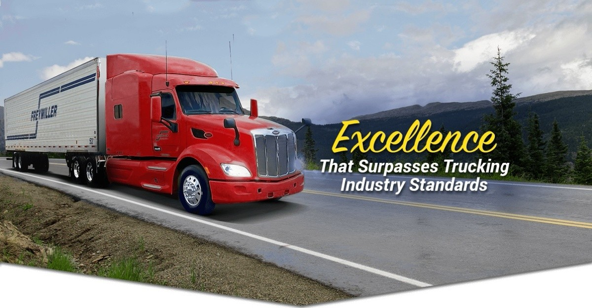 Freymiller is looking for truck drivers.