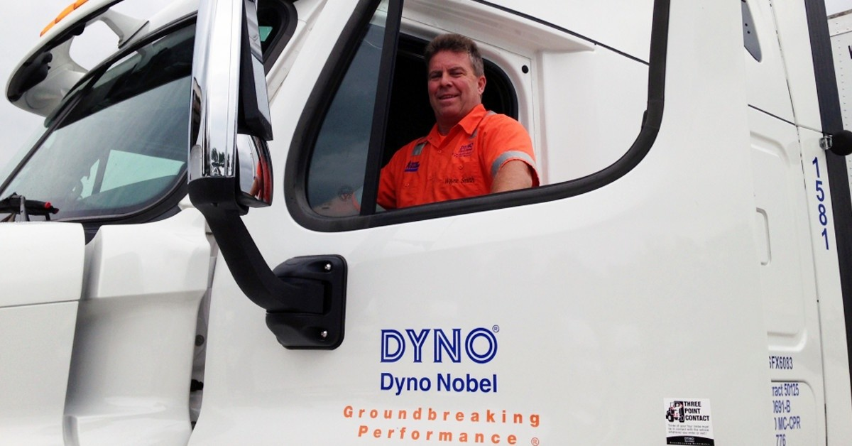Dyno Nobel Transportation is looking for truck drivers.