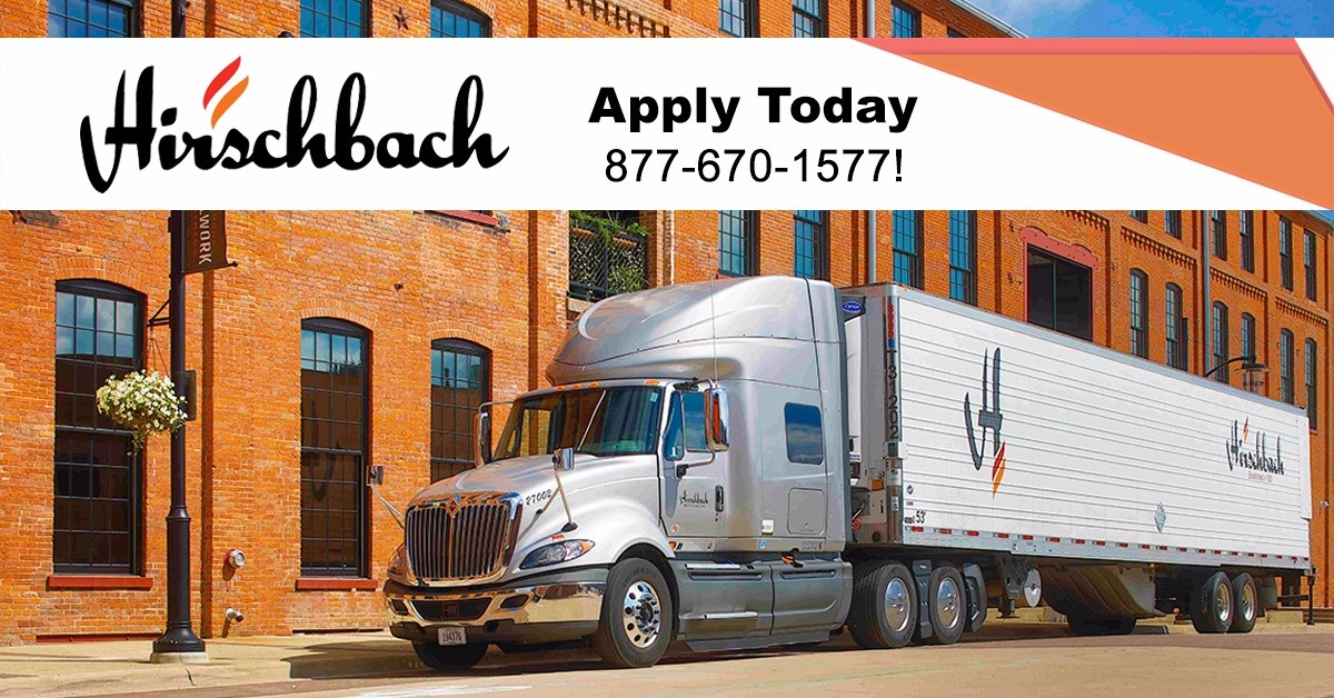 Hirschbach Motor Lines, Inc. is looking for truck drivers.
