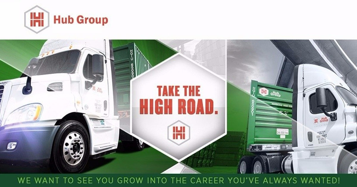 Hub Group  is looking for truck drivers.