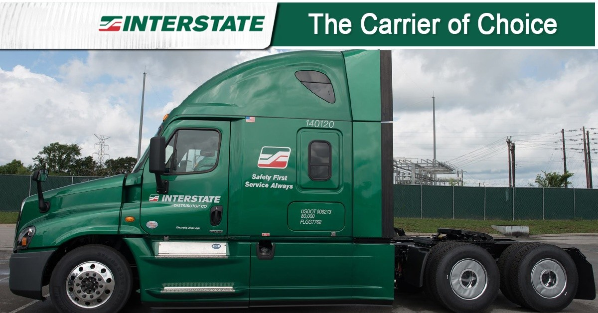 Interstate Distributor Co. is looking for truck drivers.