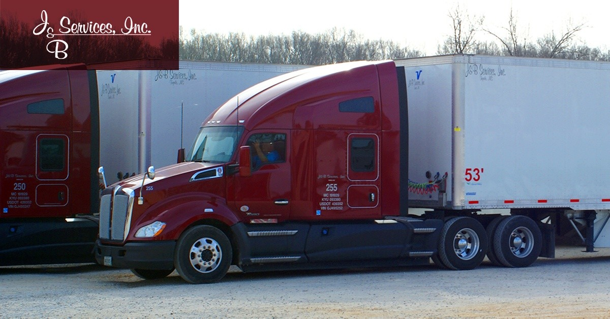 J&B Services is looking for truck drivers.