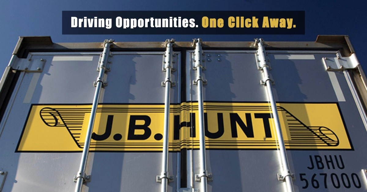 J.B. Hunt is looking for truck drivers.