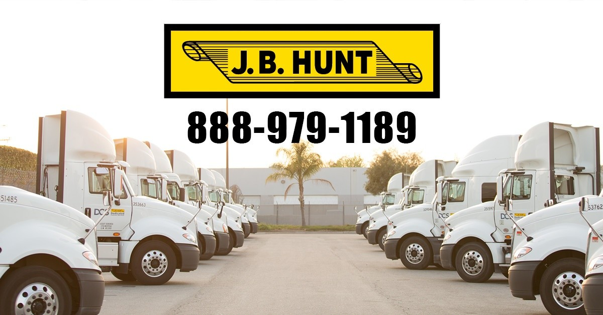 J.B. Hunt - Direct is looking for truck drivers.