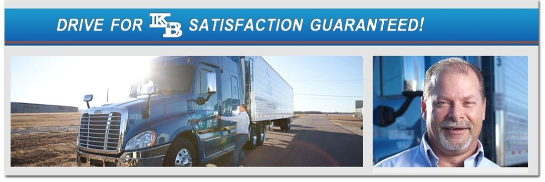 K&B Transportation, Inc. is looking for truck drivers.