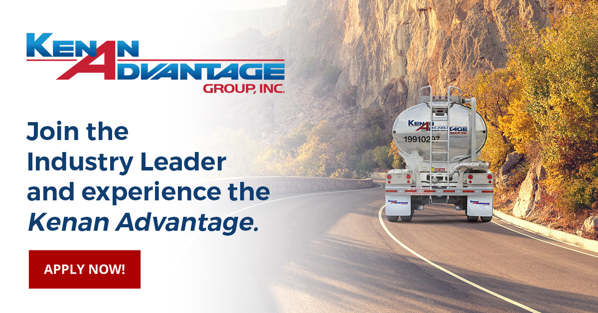 Kenan Advantage Group  is looking for truck drivers.