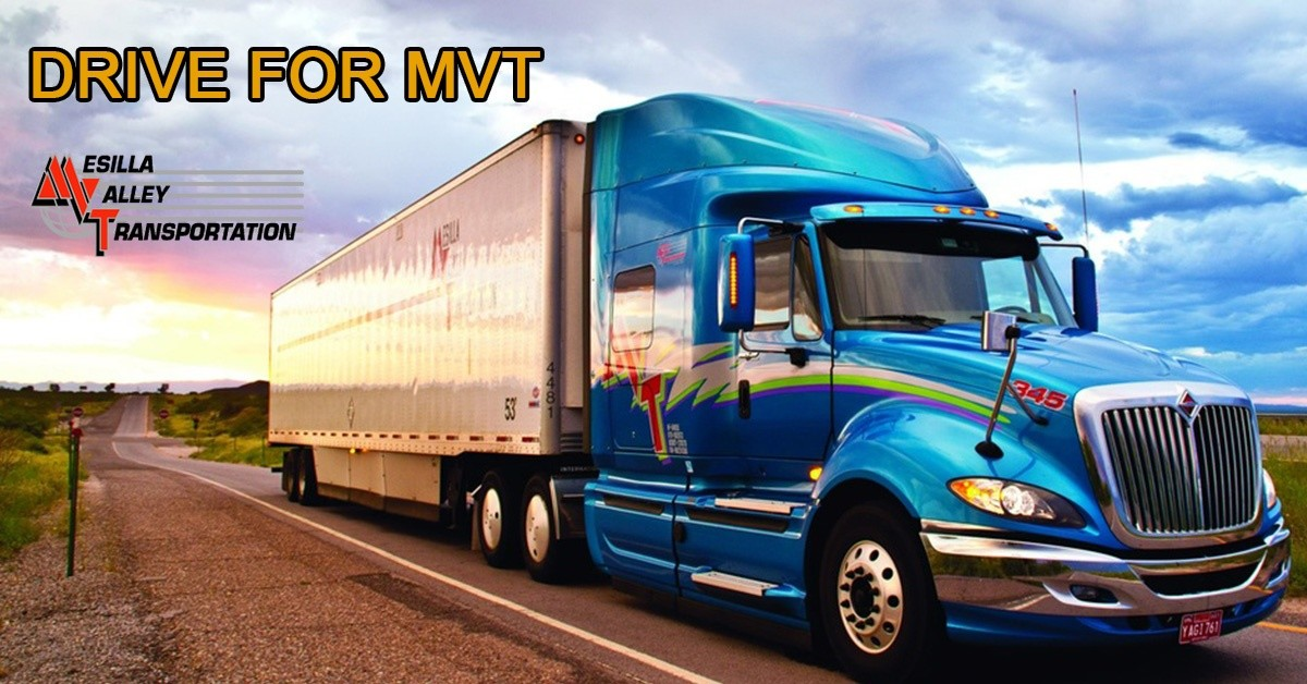 Mesilla Valley Transportation is looking for truck drivers.