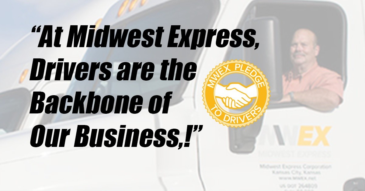 Midwest Express is looking for truck drivers.