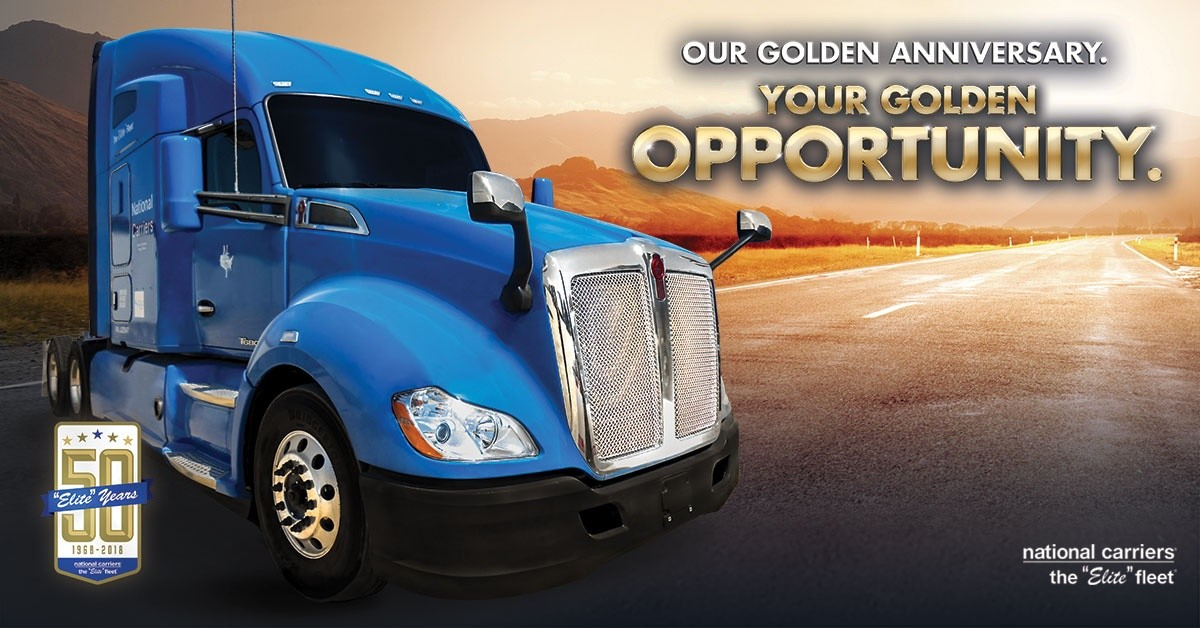 National Carriers is looking for truck drivers.