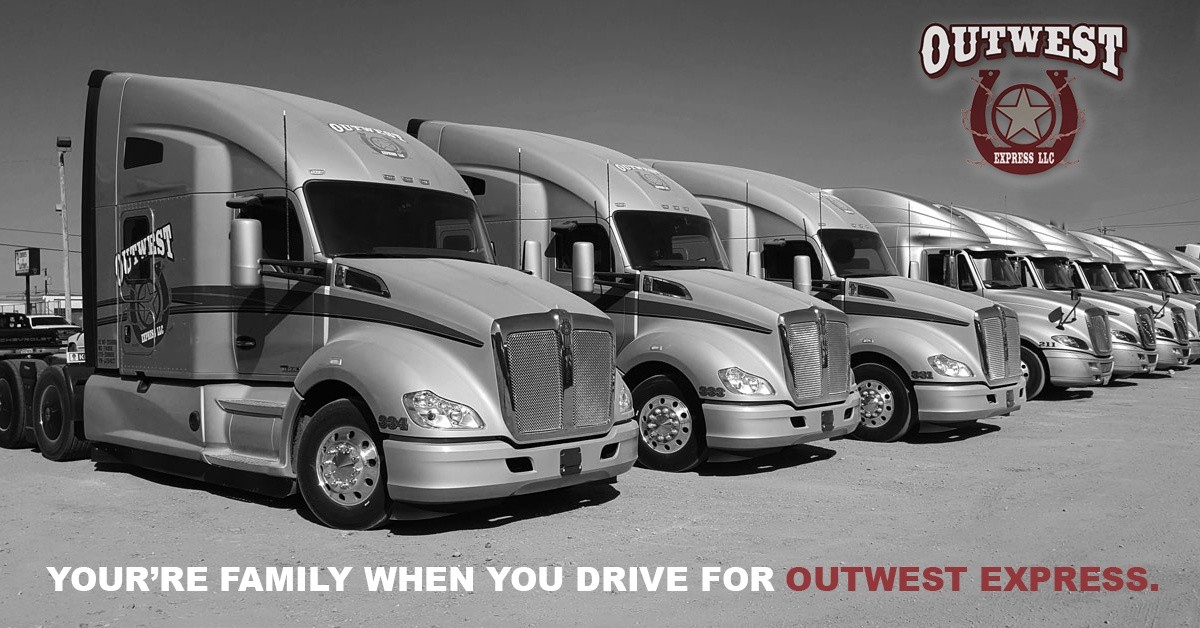 Outwest Express is looking for truck drivers.