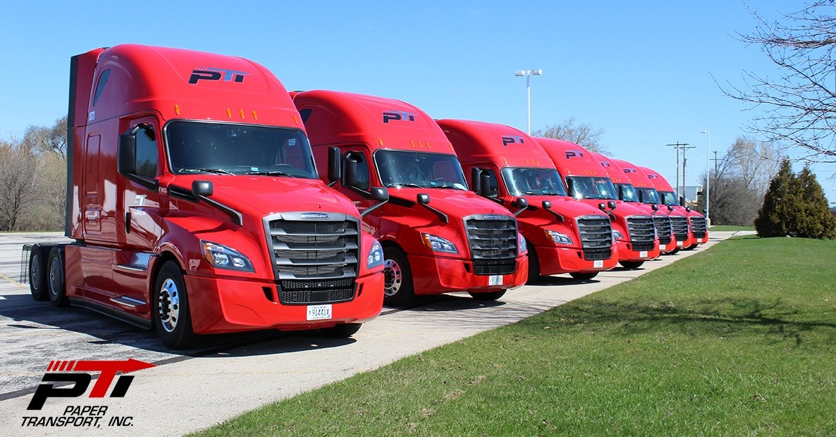 Paper Transport Inc is looking for truck drivers.