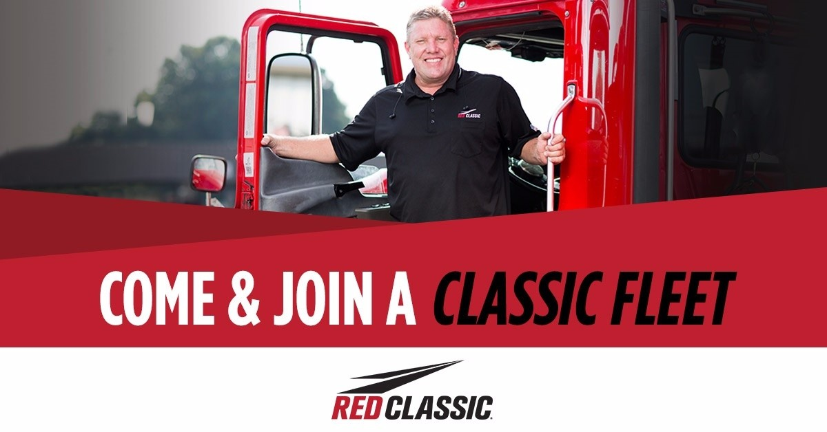 Red Classic Transit is looking for truck drivers.