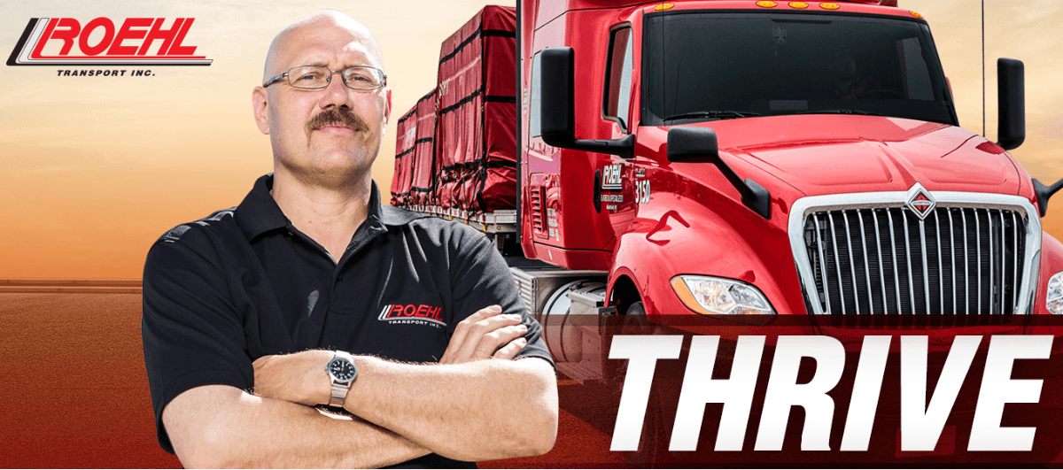 Roehl is looking for truck drivers.