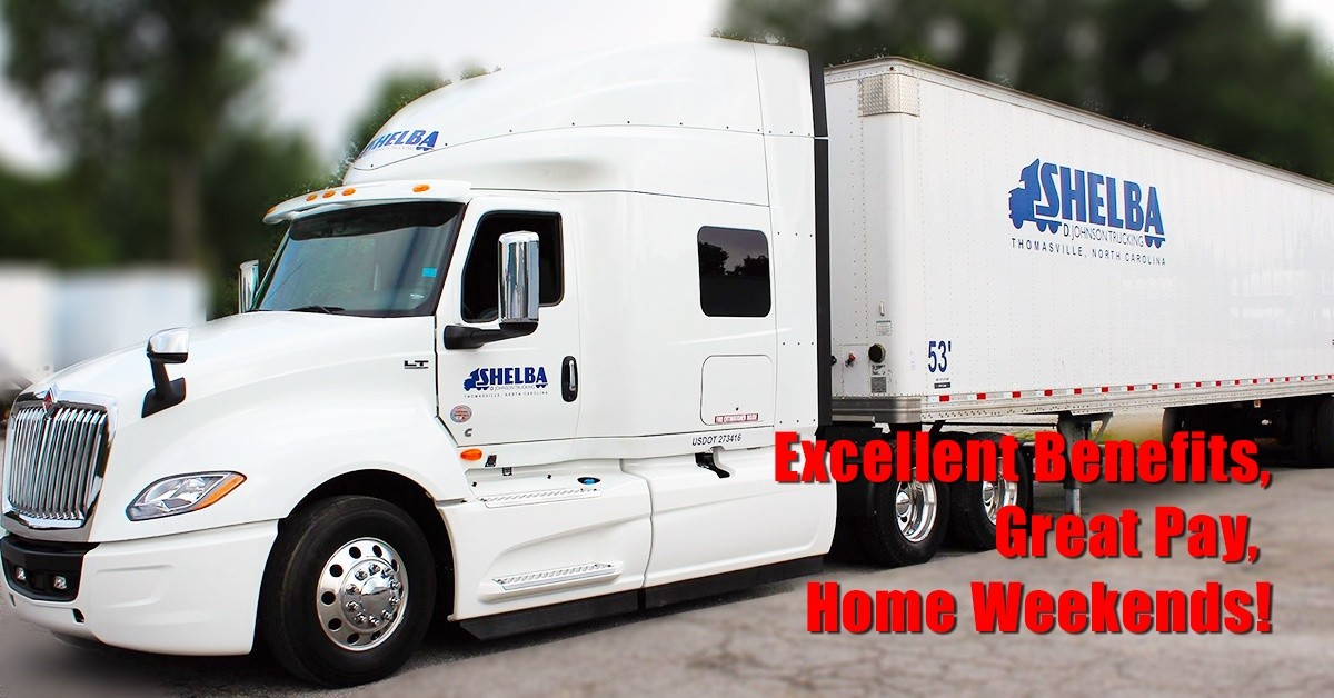 Shelba Johnson  is looking for truck drivers.