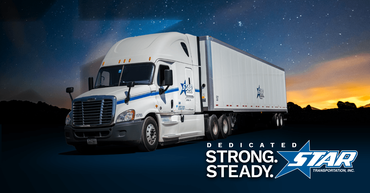 Star Transportation is looking for truck drivers.