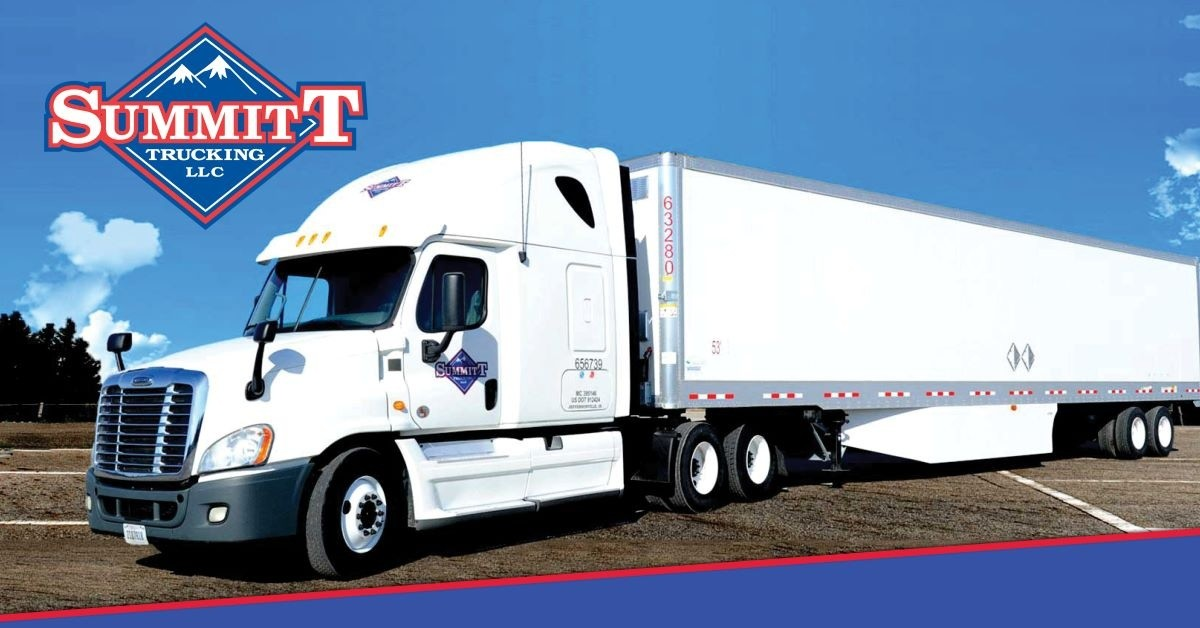 Summitt is looking for truck drivers.