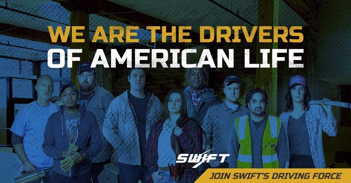 SWIFT Transportation is looking for truck drivers.