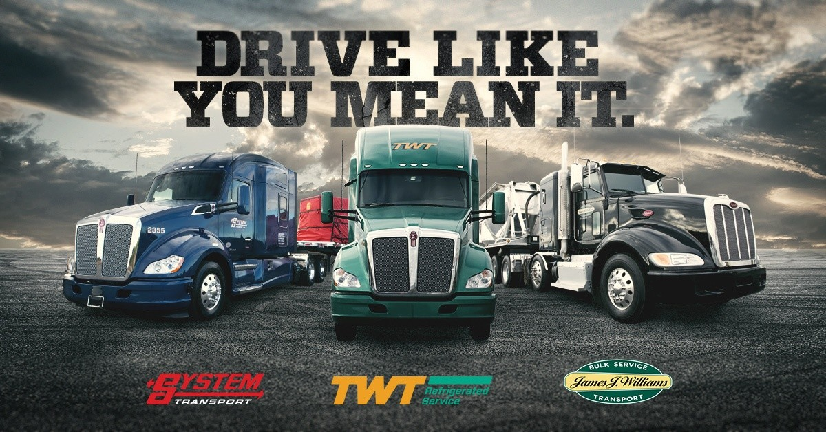 Trans-System is looking for truck drivers.