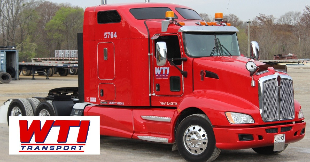 WTI Transport is looking for truck drivers.