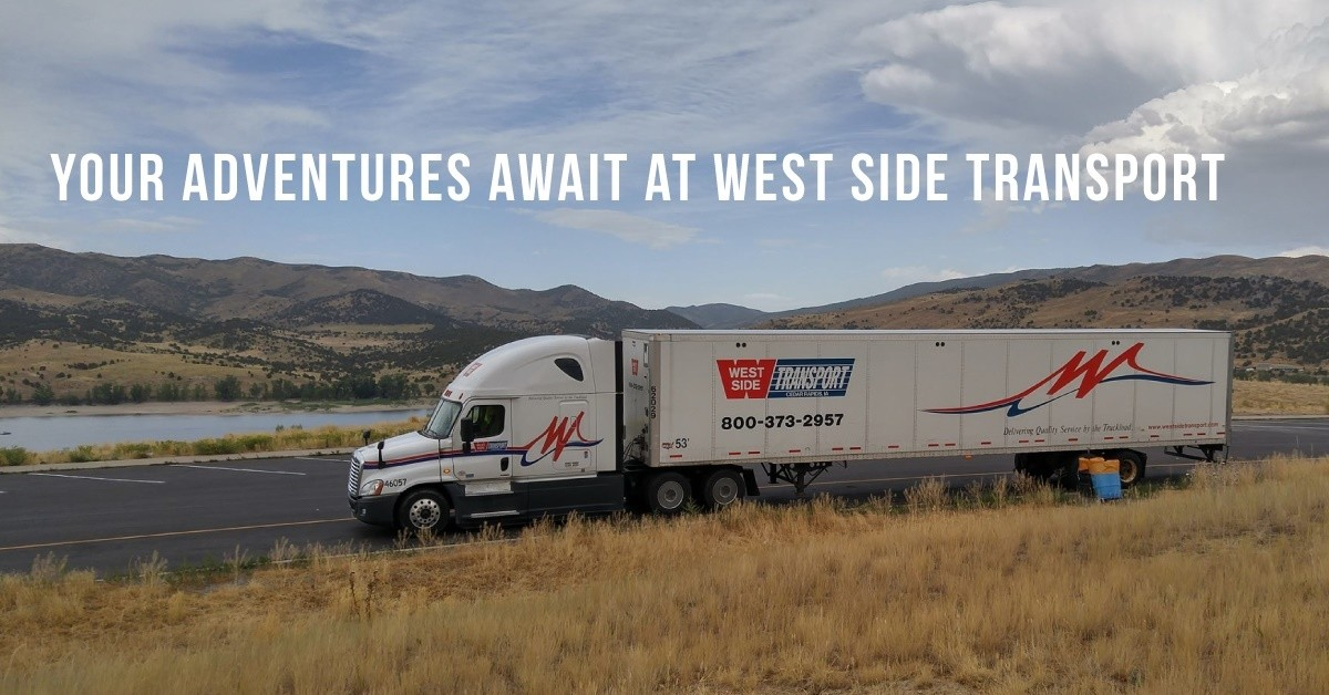 West Side Transport is looking for truck drivers.