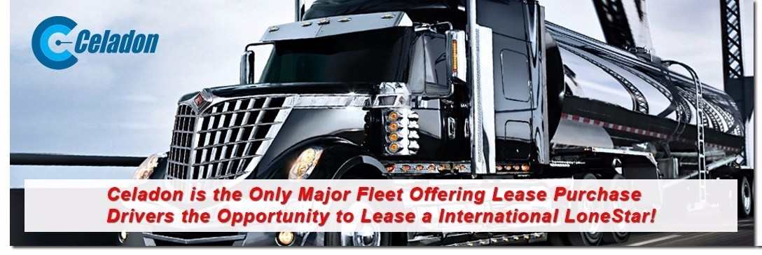 Celadon Lease Purchase is looking for truck drivers.