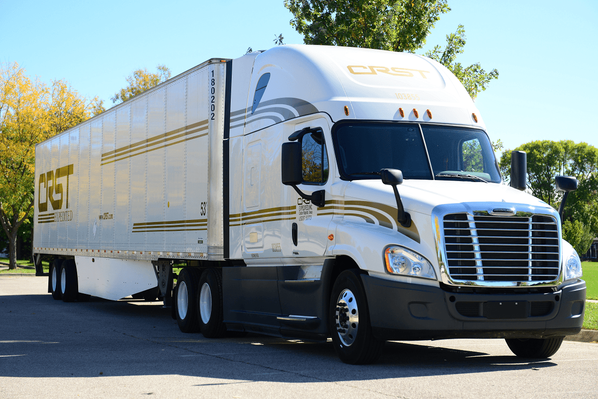 CRST Expedited is looking for truck drivers.