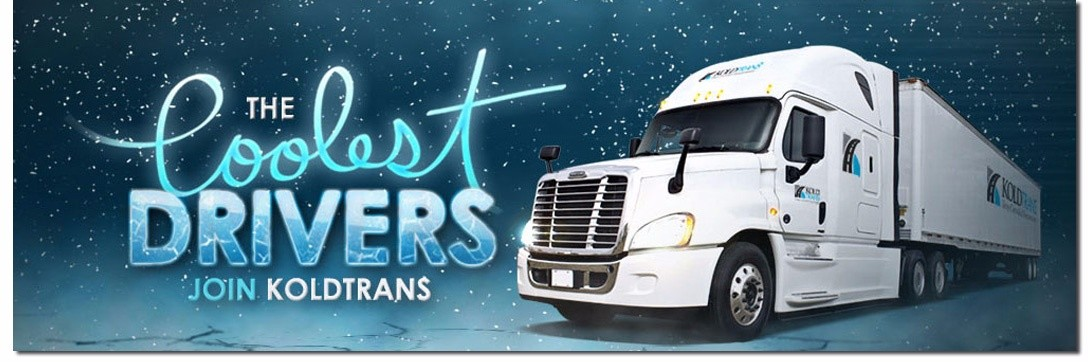 Kold Trans is looking for truck drivers.