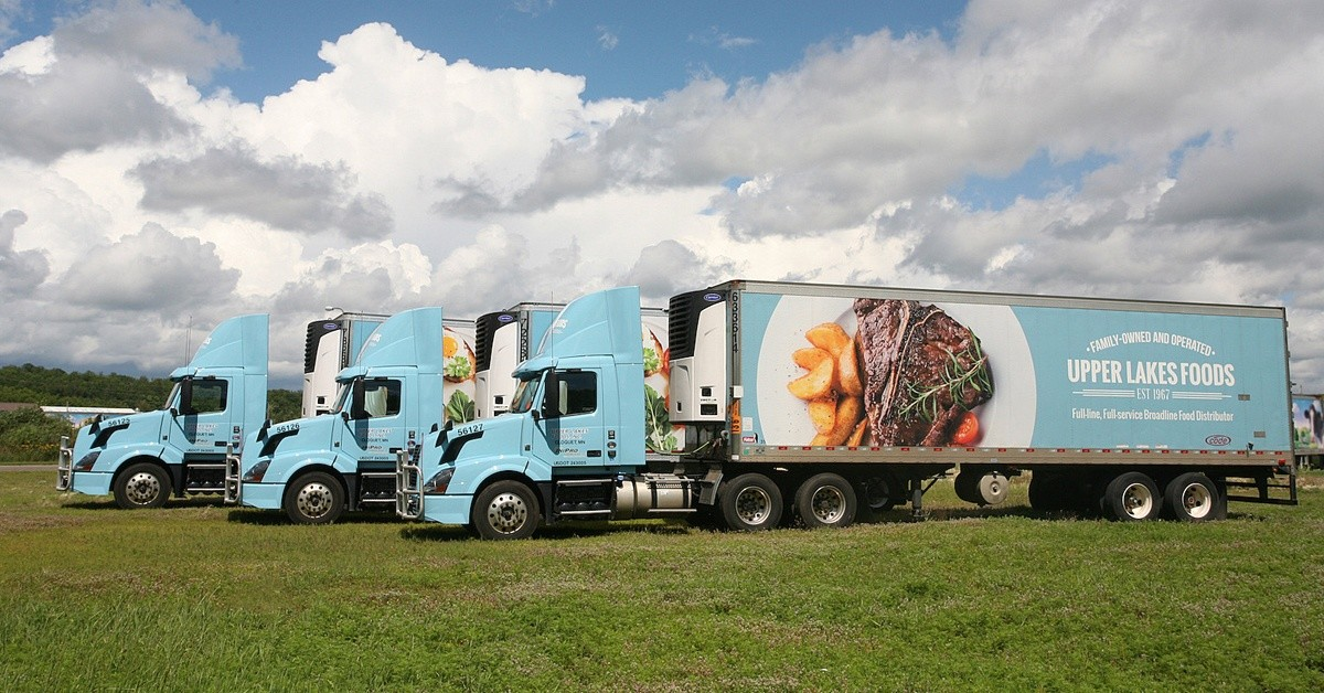 Upper Lakes Foods is looking for truck drivers.